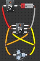 Control de giro motor corriente continua