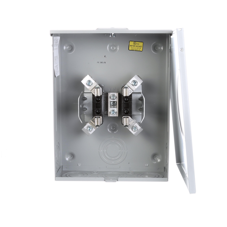 TALON® Meter Socket, 1-Position Type UAT4, 600 VAC, 200 A