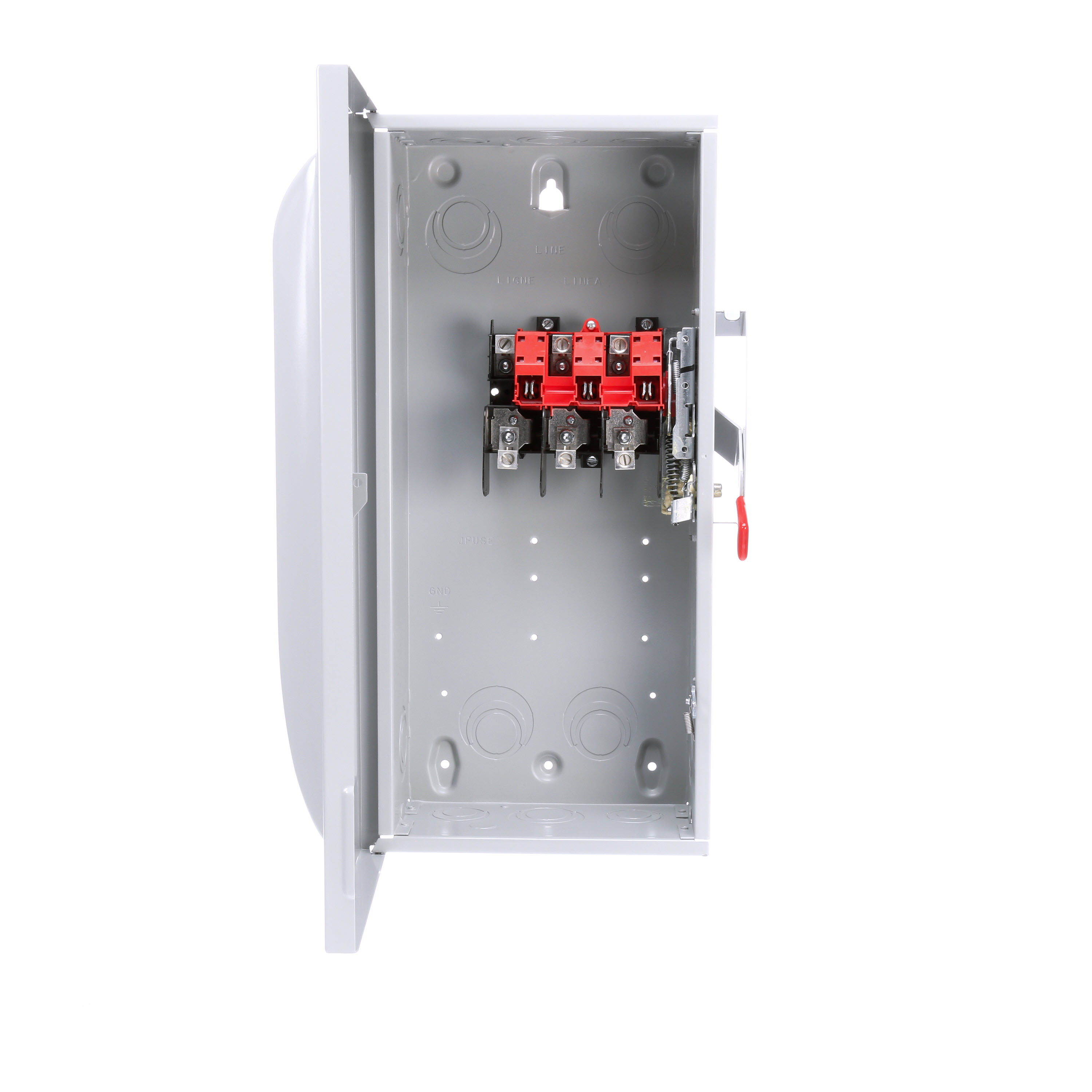 Siemens GNF323 Enclosed General Duty Low Voltage Non-Fused Safety Switch, 240 VAC, 100 A, 15 hp, 20 hp, TPST Contact, 3 Poles
