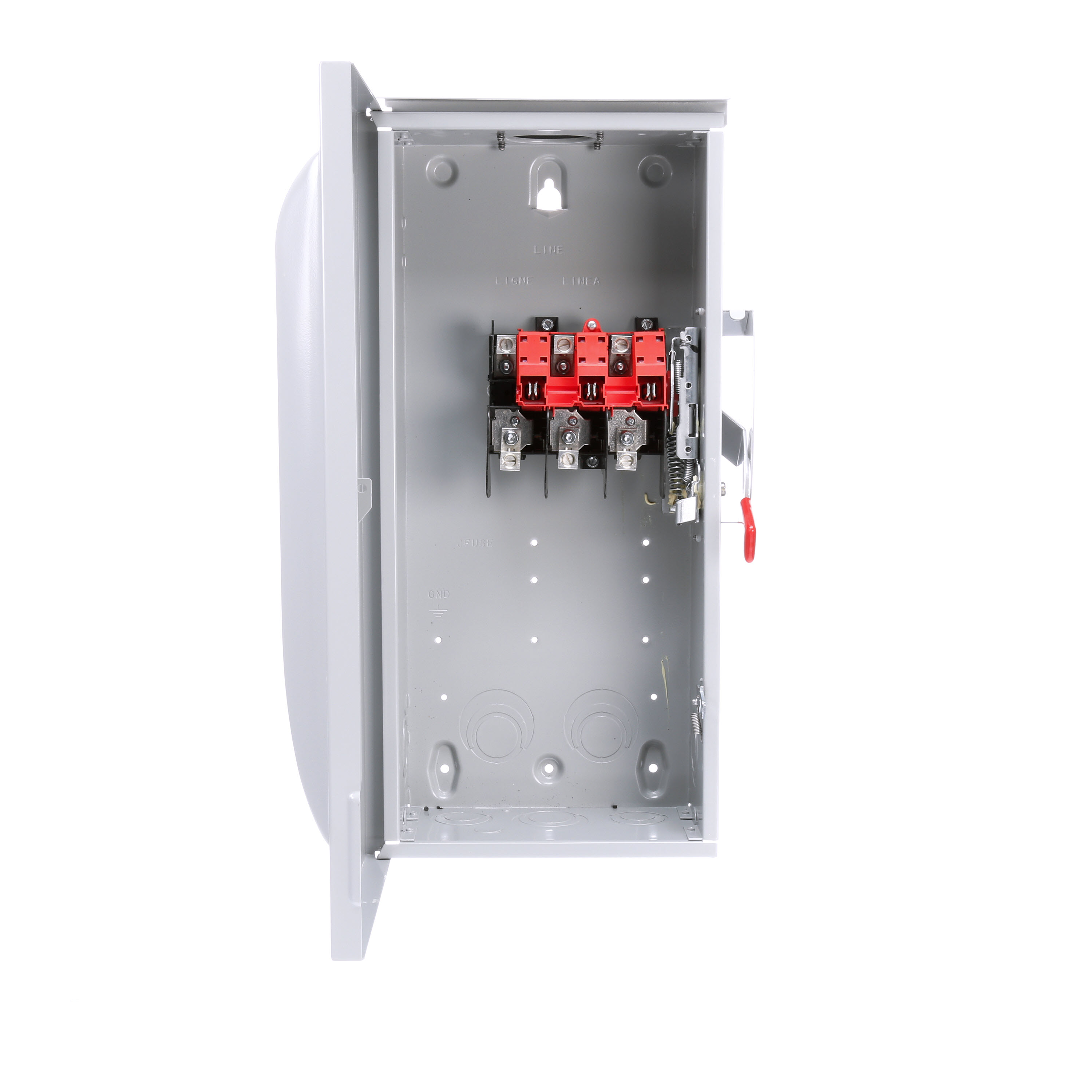 Siemens GNF323R Enclosed Low Voltage Non-Fused General Duty Safety Switch, 240 VAC, 100 A, 15 hp, 20 hp, TPST Contact, 3 Poles