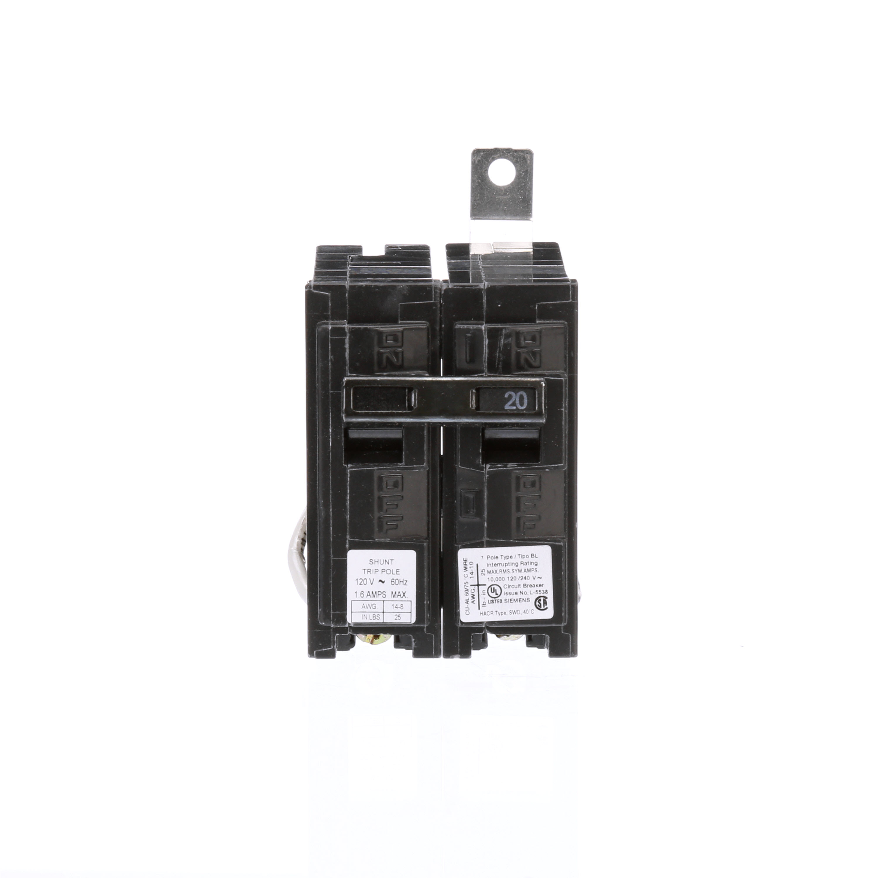 Electrical Distribution & Generation Equip Circuit Breakers 120V ...