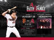 Dbacks Faith Family Night