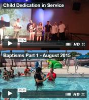 Dedications & Baptisms