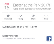 Invite to Easter