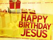 Happy Birthday Jesus Offering