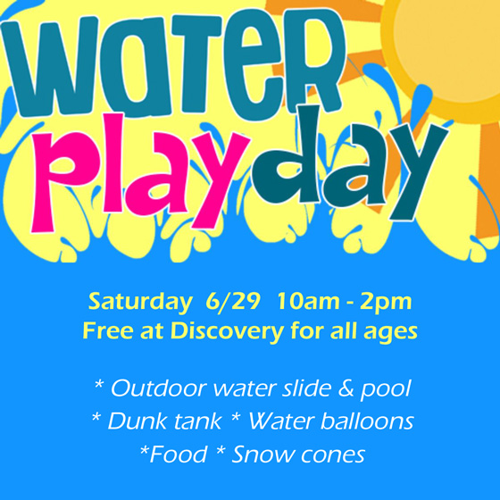 Hawaiian Water Play Day