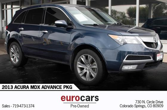 2013 Acura MDX Advance:17 car images available