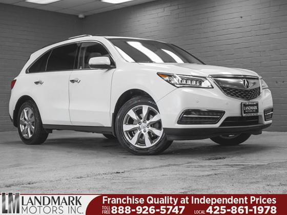 2014 Acura MDX Advance:24 car images available