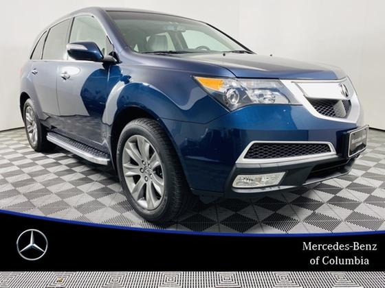 2012 Acura MDX Advance:24 car images available