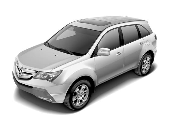 2009 Acura MDX Technology : Car has generic photo