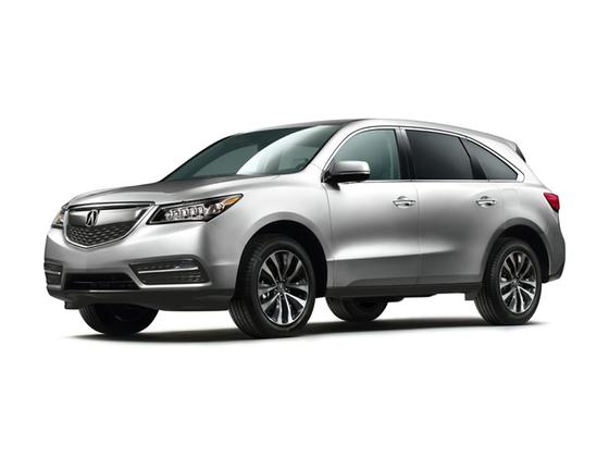 2014 Acura MDX Technology : Car has generic photo