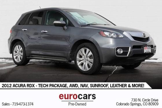 2012 Acura RDX Technology:24 car images available