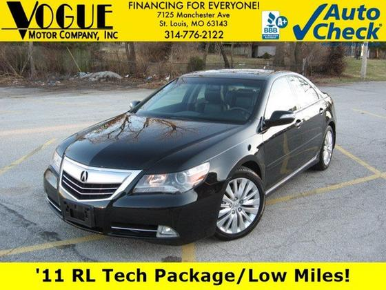 2011 Acura RL Technology:24 car images available