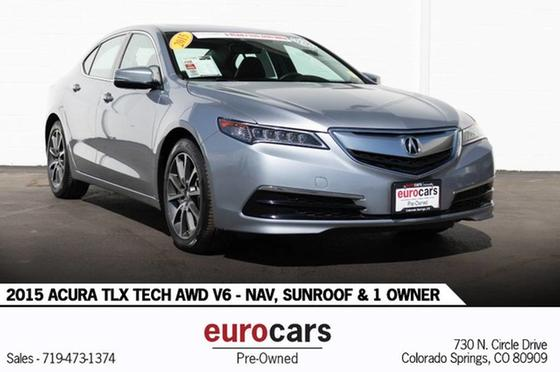 2015 Acura TLX V6 Tech:24 car images available