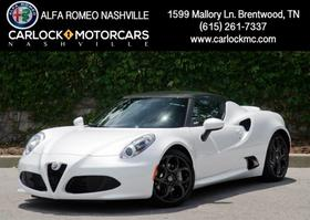 2017 Alfa Romeo 4C :24 car images available