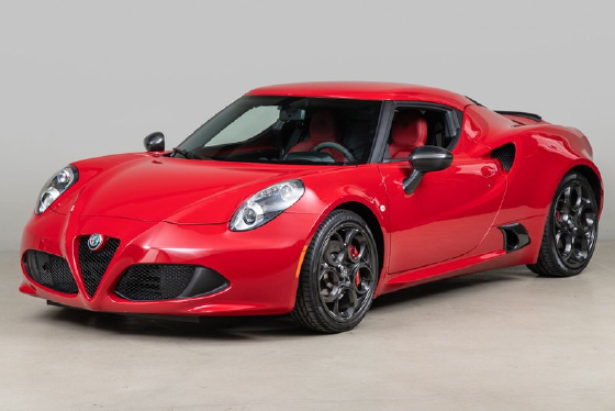 2017 Alfa Romeo 4C :12 car images available