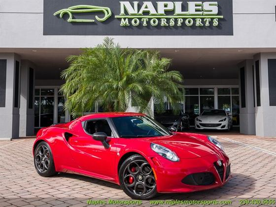 2015 Alfa Romeo 4C Launch Edition:24 car images available