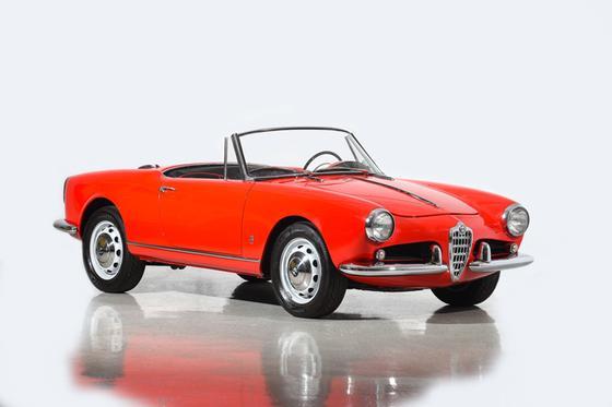 1962 Alfa Romeo Classics Giulietta Spider:24 car images available