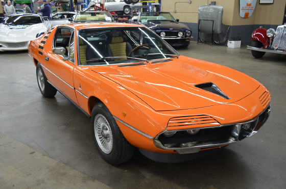 1973 Alfa Romeo Classics Montreal:12 car images available