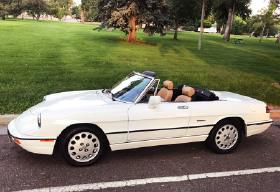 1991 Alfa Romeo Classics Spider Veloce