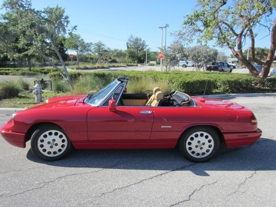 1991 Alfa Romeo Classics Spider:22 car images available