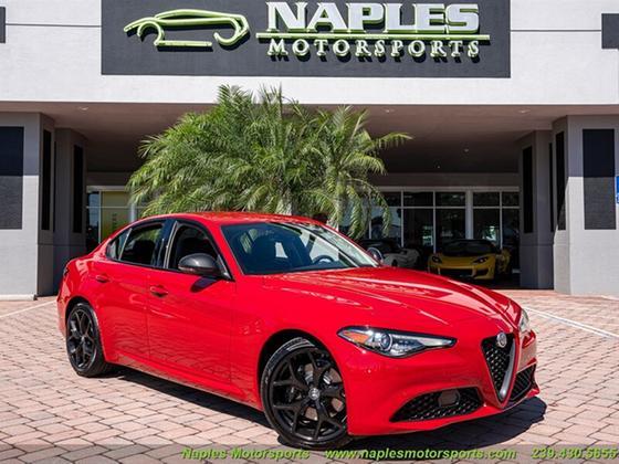 2020 Alfa Romeo Giulia :24 car images available