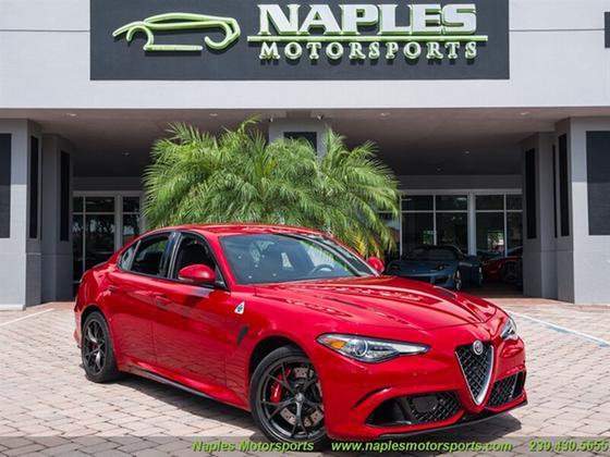 2018 Alfa Romeo Giulia Quadrifoglio:24 car images available