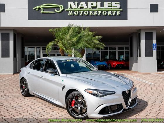 2020 Alfa Romeo Giulia Quadrifoglio:24 car images available