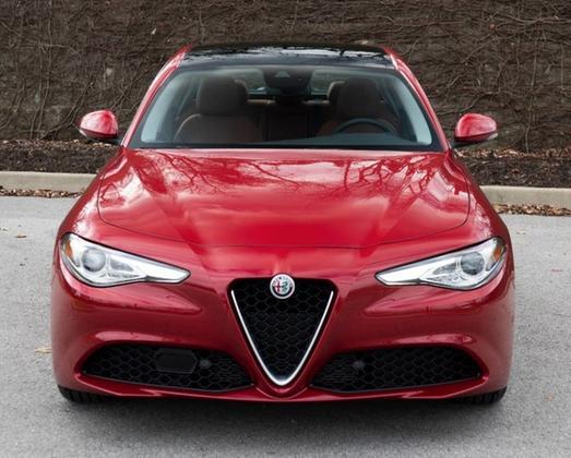 2019 Alfa Romeo Giulia Ti Lusso