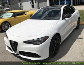 2020 Alfa Romeo Giulia Ti Sport:13 car images available