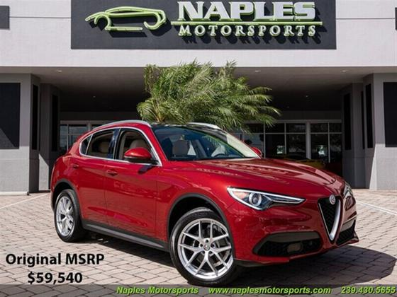 2019 Alfa Romeo Stelvio Ti Lusso:24 car images available