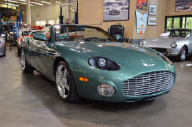 2003 Aston Martin DB AR1 Zagato Roadster:20 car images available