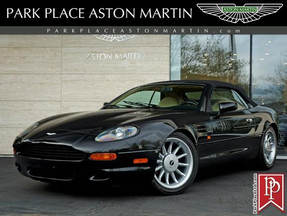 1997 Aston Martin DB7 Vantage Volante:24 car images available