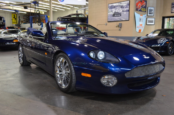 2001 Aston Martin DB7 Vantage Volante:20 car images available