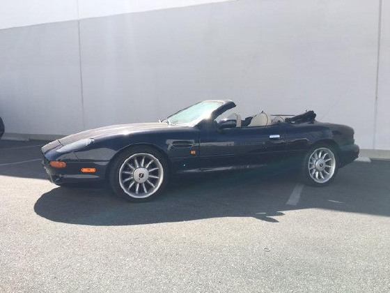 1997 Aston Martin DB7 Vantage Volante:5 car images available