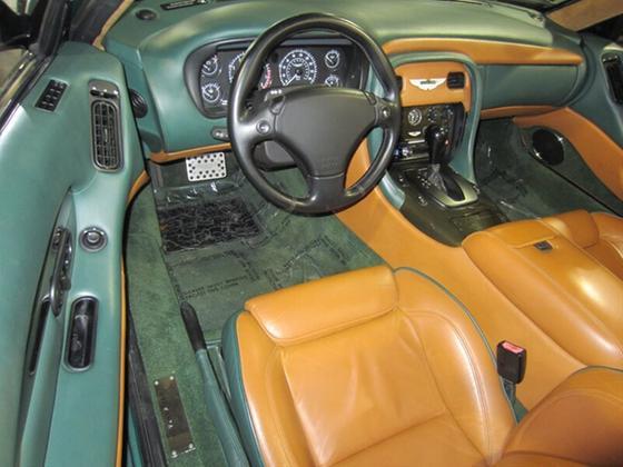 2001 Aston Martin DB7 Vantage Volante