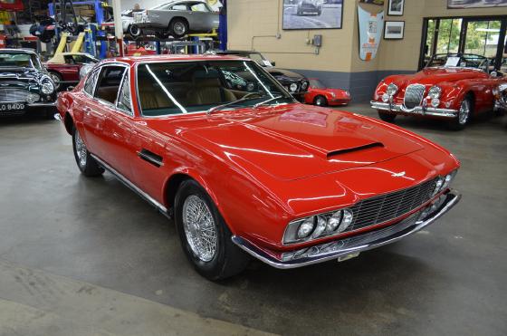 1969 Aston Martin DBS :10 car images available