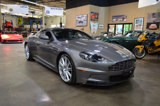 2009 Aston Martin DBS Coupe:9 car images available