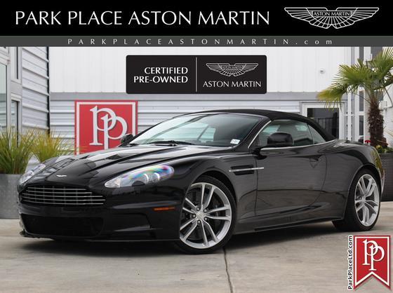 2010 Aston Martin DBS Volante:11 car images available
