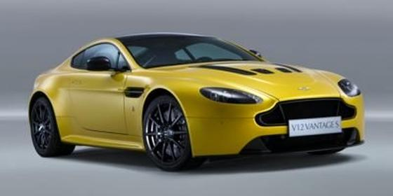 2015 Aston Martin V12 Vantage S Coupe : Car has generic photo