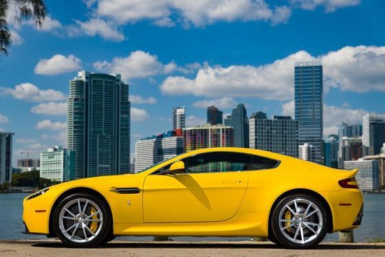 2012 Aston Martin V8 Vantage Coupe