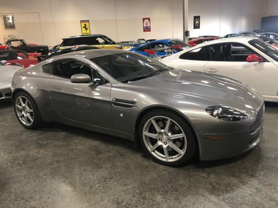 2007 Aston Martin V8 Vantage Coupe:5 car images available