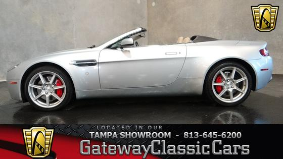 2007 Aston Martin V8 Vantage Roadster:24 car images available