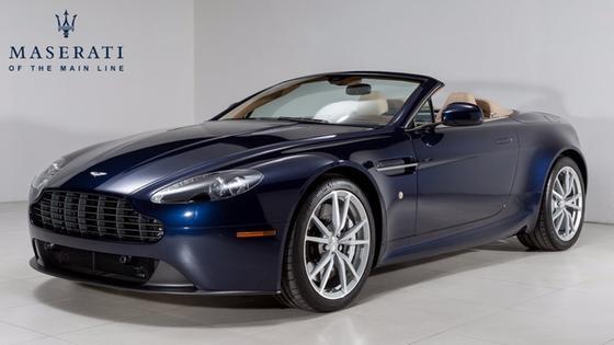 2014 Aston Martin V8 Vantage Roadster:21 car images available