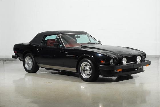 1989 Aston Martin V8 Vantage Roadster : Car has generic photo