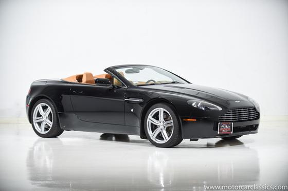 2009 Aston Martin V8 Vantage Roadster:24 car images available