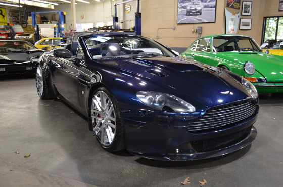2008 Aston Martin V8 Vantage Roadster:20 car images available