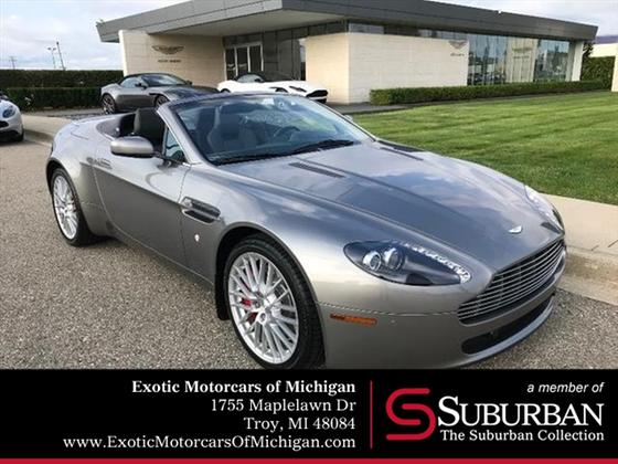 2009 Aston Martin V8 Vantage Roadster:20 car images available