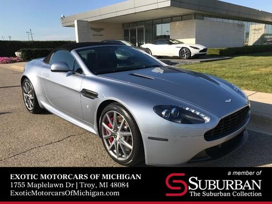 2014 Aston Martin V8 Vantage Roadster:22 car images available