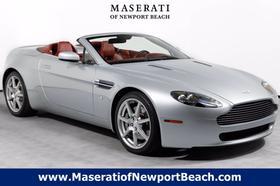 2008 Aston Martin V8 Vantage Roadster:24 car images available